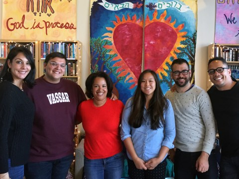 Local activists and leaders met in July 2018 in Berkeley to strategize about the new Jews of Color Field Building Initiative.