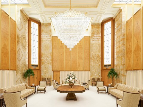 The Celestial Room of the the Oakland Temple of the Church of Jesus Christ of Latter-day Saints (Photo/Courtesy Church of Jesus Christ of Latter-day Saints)