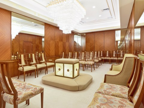 One of the Sealing Rooms at the Oakland Temple of the Church of Jesus Christ of Latter-day Saints (Photo/Courtesy Church of Jesus Christ of Latter-day Saints)
