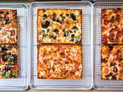 Square Pie Guys' Detroit-style pizza (Photo/Courtesy Carolyn Insley)