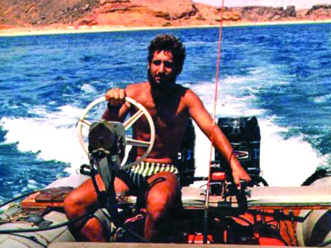 Nir Merry during his time with the Israeli navy
