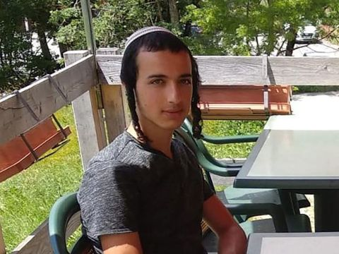 Dvir Sorek, 19, was found stabbed to death outside a West Bank settlement, Aug. 8, 2019 (Photo/Courtesy IDF)