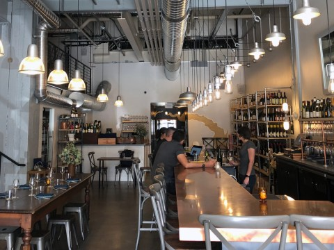 Inside Ungrafted, the wine-focused restaurant in Dogpatch (Photo/Alix Wall)