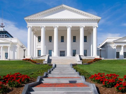 Virginia Statehouse (Wikimedia Commons)