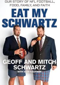 """Cover of """"Eat My Schwartz"""""""