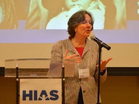 Dianne Lob at a HIAS event in 2016. (Photo/Facebook-HIAS)