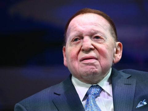 Sheldon Adelson (JTA/MANDEL NGAN/AFP/GETTY)