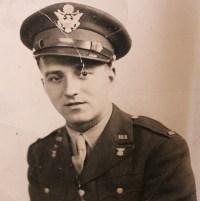 Gisa Oloff's husband, Joseph, in his Army uniform.