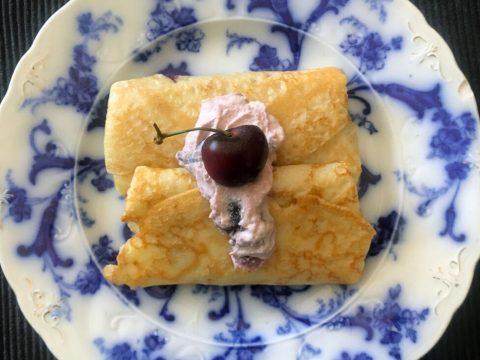 Cherry-Cheese Blintzes (Photo/Faith Kramer)
