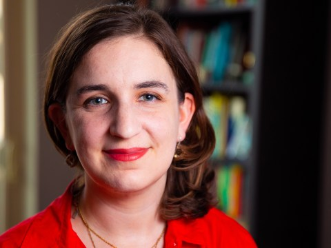 "Emily Tamkin, author of ""The Influence of Soros,"" a recent book on Soros' philanthropy and the conspiracy theories targeting him, says right-wing pro-Israel Jews may feel no pause in criticizing Soros because his funding of left-wing Israeli groups may contravene their understanding of Jewishness. (Photo/Courtesy Tamkin)"