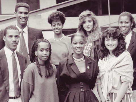 Students admitted to UC Berkeley under affirmative action policies implemented in the university's Educational Opportunity Program, ca. 1985. (Photo/Courtesy UC Berkeley)