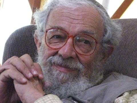 Rabbi Zalman Schachter-Shalomi at the Isabella Freedman Jewish Retreat Center in Falls Village, Connecticut, in 2007. (Photo/JTA-Daniel Sieradski)