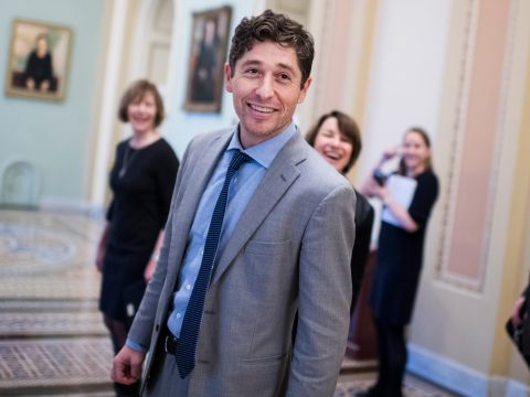 Minneapolis Mayor Jacob Frey in the Capitol in Washington, D.C., Jan. 24, 2019. (Tom Williams/CQ Roll Call/Getty Images)