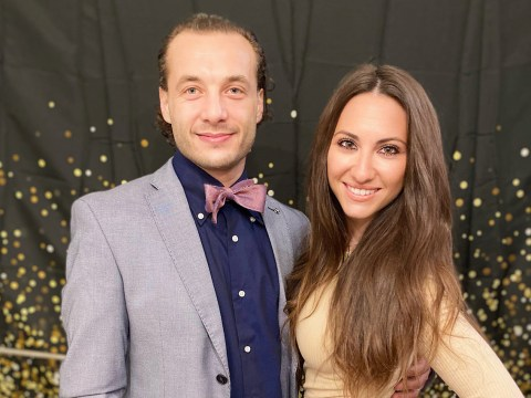Yuriy and Helen Timen are funding a Torah scroll for the new Russian Jewish community center.
