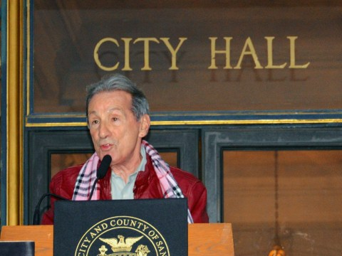 Tom Ammiano at City Hall in 2012. (Photo/Wikimedia Commons)