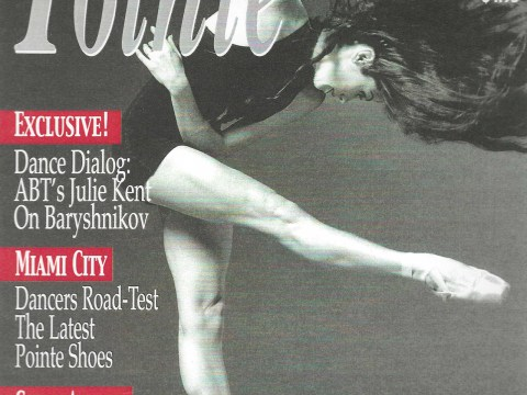 Debra Rose on the cover of Pointe.
