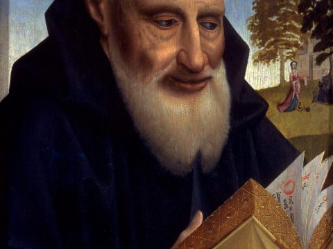 """""""Saint Anthony the Hermit"""" by Colijn de Coter, ca 1465-1520 (Photo/Courtesy FAMSF)"""