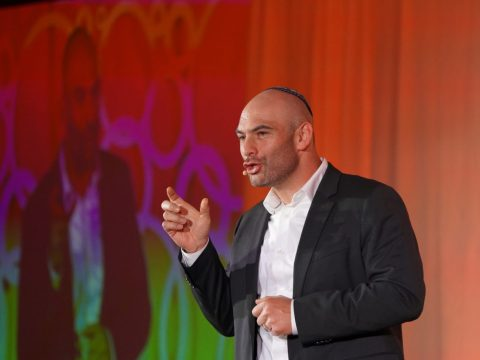 Rabbi Ryan Bauer of Congregation Emanu-El in San Francisco. (Photo/Courtesy Harry and Jeanette Weinberg Foundation)