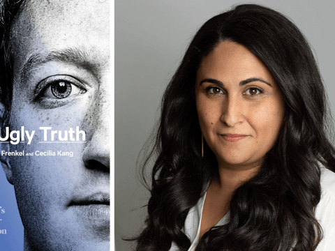 Sheera Frenkel is a cybersecurity reporter at the New York Times and the author of a new book about Facebook. (Photo/Beowulf Sheehan)
