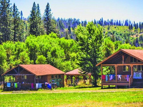 Camp Tawonga is in Tuolumne County, close to Yosemite
