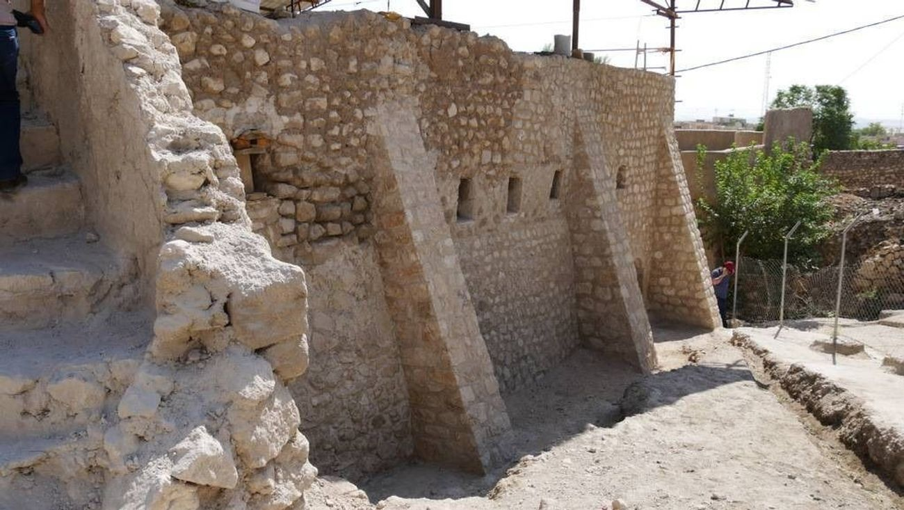 Close to crumbling, the tomb of an ancient prophet is saved in Kurdish Iraq
