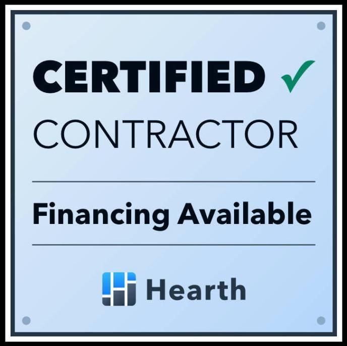 JWE is a Certified Contractor offering Roofing Financing and Home Improvement Payment Options for Homeoners in Hanover PA