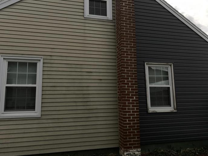Siding damage from hail in Hanover PA 17331 repaired by JWE Remodeling and Roofing