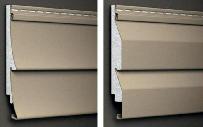 straight lap or clapboard style vinyl siding vs dutch-lap style vinyl siding comparison