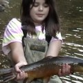 Vanesssa with a nice French Nymphed Farmington Brown!