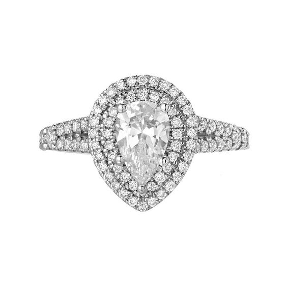 double halo engagement ring san diego