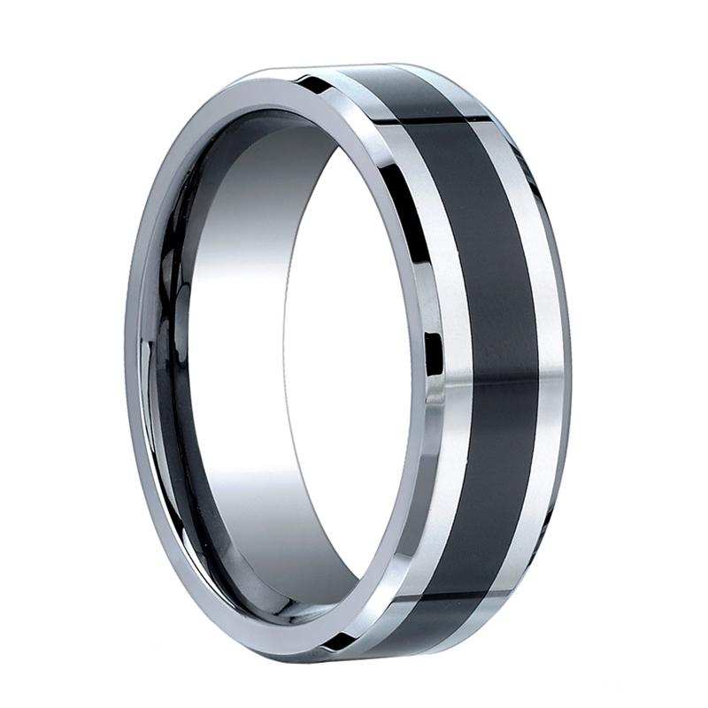 benchmark ring cobalt chrome wedding band