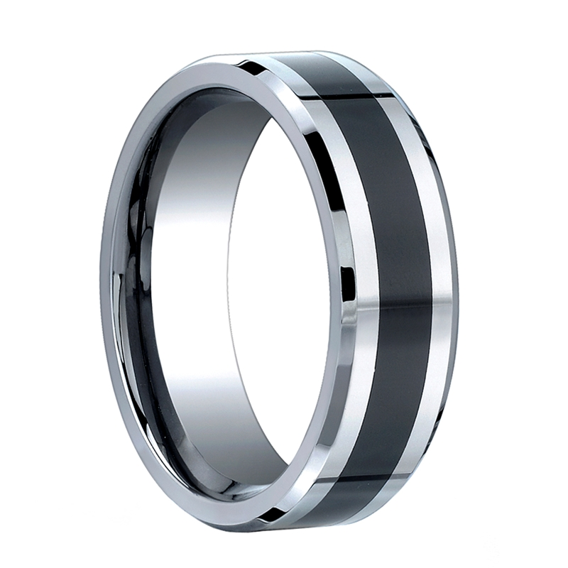 benchmark ring cobalt chrome wedding band