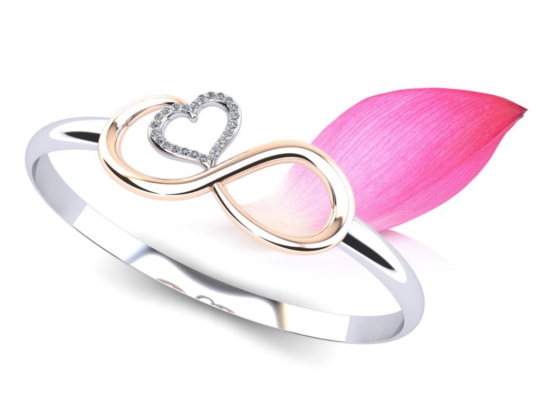 infinite hearts diamond adjustable bracelet