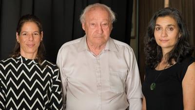 Hadas Palevsky (State Zionist Council of Queensland), Survivor George Stein, Sheree Trotter (Shadows of Shoah)