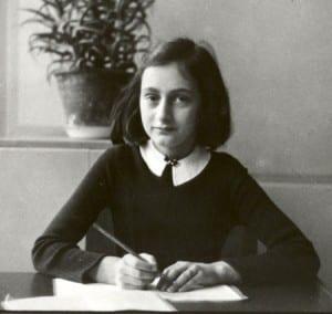 Anne Frank at school in 1941 Anne Frank      ©Anne Frank House Amsterdam/Anne Frank Fonds Basel.