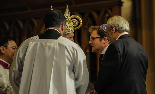 Jeremy Spinak meets Archbishop Anthony
