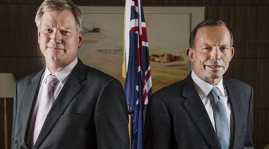 Andrew Bolt and Tony Abbott