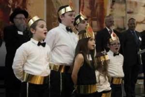 Boys' choir    Photo: Adam Levy