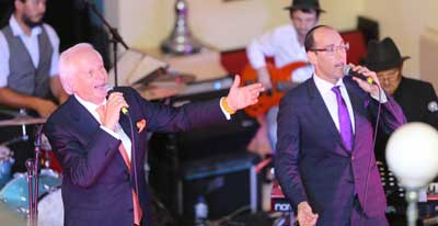 Shimon and Dov Farkas