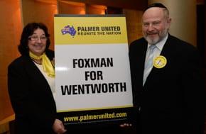 Marsha Foxman with husband Joe  Weinstein