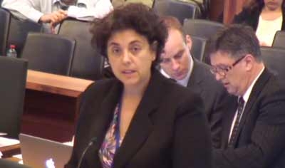 Counsel assisting the Commission Maria Gerace