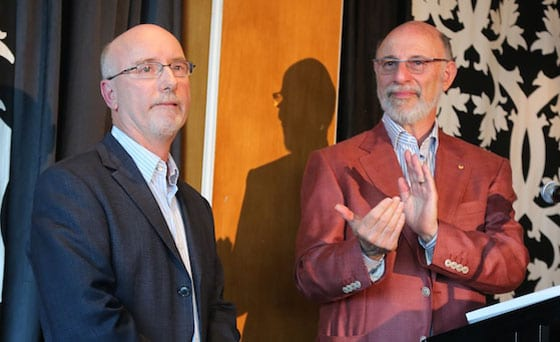 Ian Sandler and JCA President Peter Philipssohn