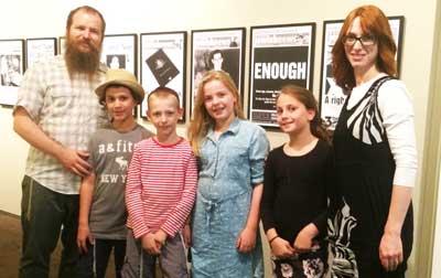 At the Sydney Jewish Museum