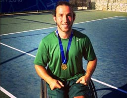 Medal man Adam Kellerman