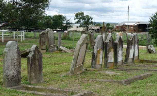 The Jewish Cemetery in Maitland   Pic: Sach Killam