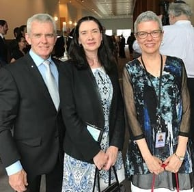 On Senator Malcolm Roberts' Facebook: Tonight I am at the Chanukah Festival of Freedom in Parliament House with Yael, the President of the ACT Jewish Community and VP of the Executive Council of Australian Jewry and my wife Christine.