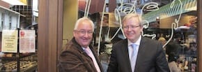 Prime Minister Rudd & Michael Danby