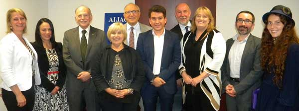 MPS with AIJAC executives