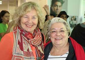 JewishCare CEO Claire Vernon with Waverley mayor Sally Betts