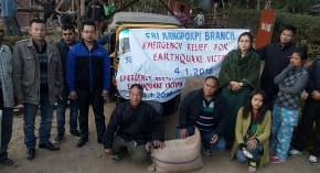 Earthquake survivors